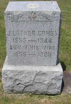 COMBS, ANN M. - Perry County, Ohio | ANN M. COMBS - Ohio Gravestone Photos