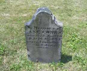 COMBS, JANE?? - Perry County, Ohio   JANE?? COMBS - Ohio Gravestone Photos