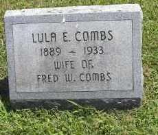 COMBS, LULA E. - Perry County, Ohio   LULA E. COMBS - Ohio Gravestone Photos