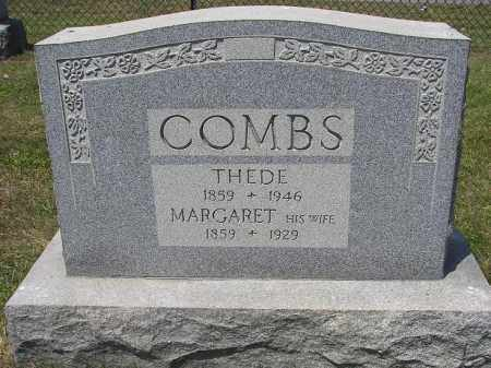 COMBS, THEDE - Perry County, Ohio | THEDE COMBS - Ohio Gravestone Photos