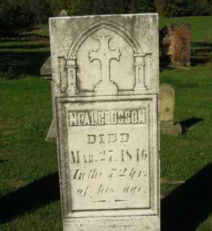 CROSSON, NEAL - Perry County, Ohio | NEAL CROSSON - Ohio Gravestone Photos