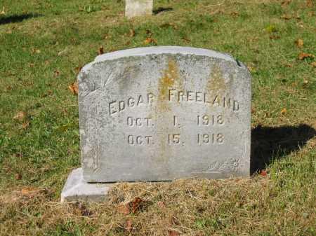 FREELAND, EDGAR - Perry County, Ohio | EDGAR FREELAND - Ohio Gravestone Photos