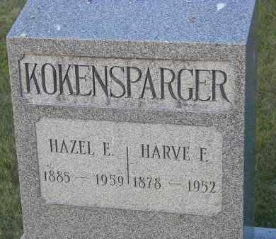 KOKENSPARGER, HARVE F. - Perry County, Ohio | HARVE F. KOKENSPARGER - Ohio Gravestone Photos