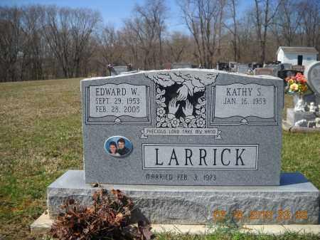 LARRICK, EDWARD - Perry County, Ohio | EDWARD LARRICK - Ohio Gravestone Photos