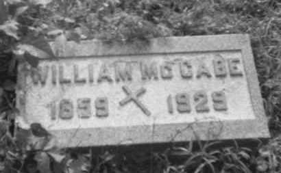 MCCABE, WILLIAM J. - Perry County, Ohio   WILLIAM J. MCCABE - Ohio Gravestone Photos