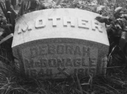 MCGONAGLE, DEBORAH - Perry County, Ohio | DEBORAH MCGONAGLE - Ohio Gravestone Photos