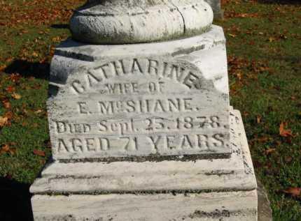 MCSHANE, E. - Perry County, Ohio | E. MCSHANE - Ohio Gravestone Photos