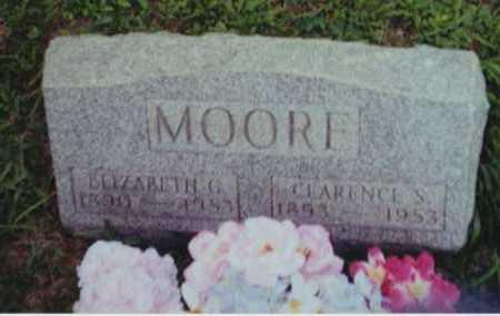 MOORE, ELIZABETH G - Perry County, Ohio | ELIZABETH G MOORE - Ohio Gravestone Photos