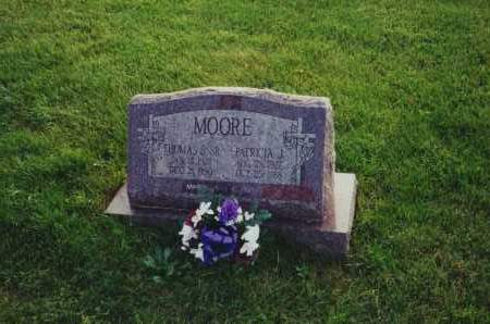 WEAVER MOORE, PATRICIA J - Perry County, Ohio | PATRICIA J WEAVER MOORE - Ohio Gravestone Photos