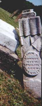 NORRIS, JOHN G - Perry County, Ohio | JOHN G NORRIS - Ohio Gravestone Photos