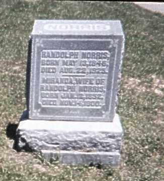 HEMRY NORRIS, MIRANDA - Perry County, Ohio | MIRANDA HEMRY NORRIS - Ohio Gravestone Photos