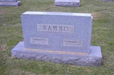 RAMBO, EDWARD H. - Perry County, Ohio | EDWARD H. RAMBO - Ohio Gravestone Photos