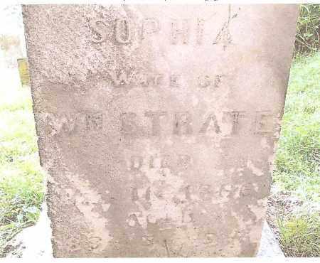 IMMEL STRATE, SOPHIA - Perry County, Ohio | SOPHIA IMMEL STRATE - Ohio Gravestone Photos