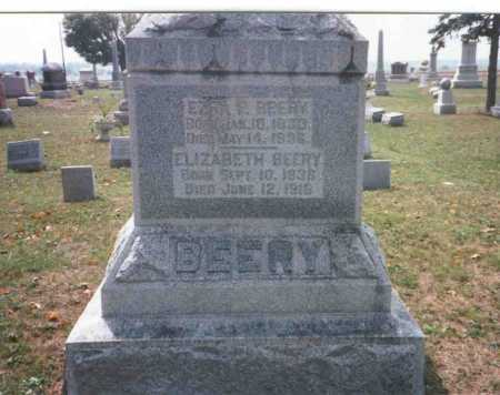BEERY, ELIZABETH - Pickaway County, Ohio | ELIZABETH BEERY - Ohio Gravestone Photos