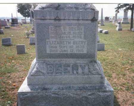COURTRIGHT BEERY, ELIZABETH - Pickaway County, Ohio | ELIZABETH COURTRIGHT BEERY - Ohio Gravestone Photos