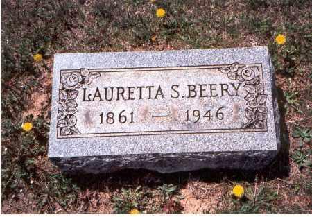 BEERY, LAURETTA S. - Pickaway County, Ohio | LAURETTA S. BEERY - Ohio Gravestone Photos