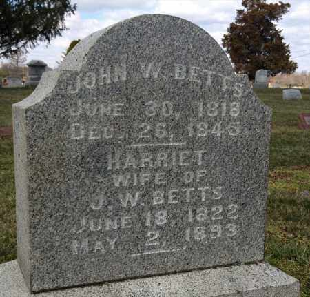 BETTS, JOHN W - Pickaway County, Ohio | JOHN W BETTS - Ohio Gravestone Photos