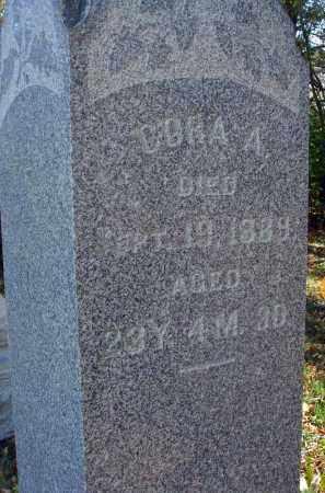 BROBST, CORA A. - Pickaway County, Ohio | CORA A. BROBST - Ohio Gravestone Photos