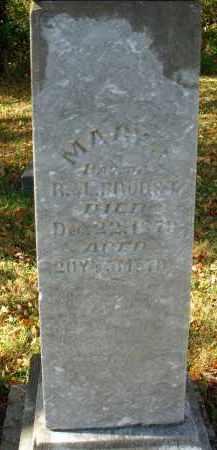 BROBST, MARY J. - Pickaway County, Ohio | MARY J. BROBST - Ohio Gravestone Photos