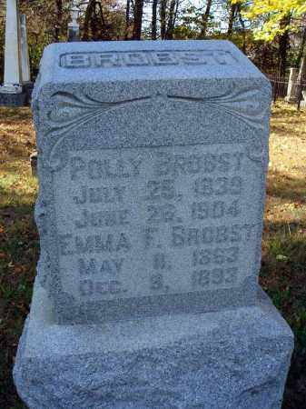 BROBST, EMMA F. - Pickaway County, Ohio | EMMA F. BROBST - Ohio Gravestone Photos