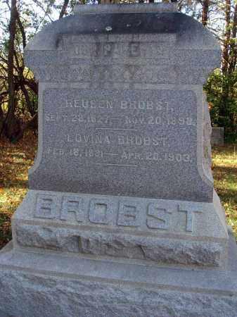 BROBST, REUBEN - Pickaway County, Ohio | REUBEN BROBST - Ohio Gravestone Photos