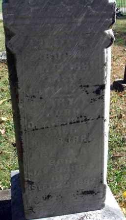 CLOUD, LILLY E. - Pickaway County, Ohio | LILLY E. CLOUD - Ohio Gravestone Photos