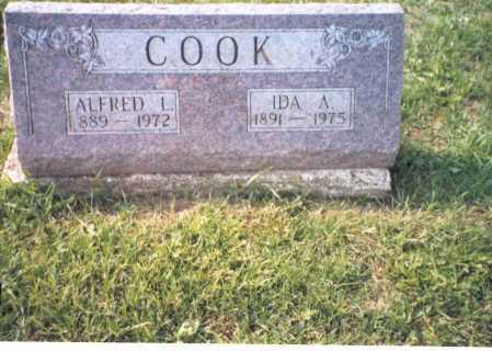 COOK, ALFRED L. - Pickaway County, Ohio | ALFRED L. COOK - Ohio Gravestone Photos