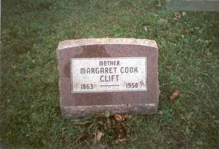 COOK, MARGARET - Pickaway County, Ohio | MARGARET COOK - Ohio Gravestone Photos