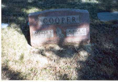 COOPER, ARVILLA - Pickaway County, Ohio | ARVILLA COOPER - Ohio Gravestone Photos