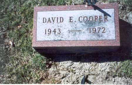 COOPER, DAVID E. - Pickaway County, Ohio | DAVID E. COOPER - Ohio Gravestone Photos