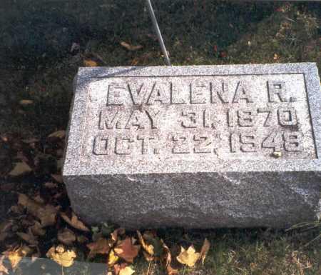 COURTRIGHT, EVALENA R. - Pickaway County, Ohio   EVALENA R. COURTRIGHT - Ohio Gravestone Photos