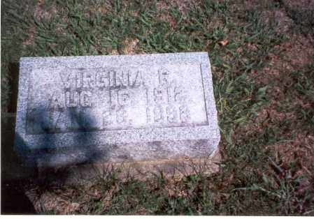COURTRIGHT, VIRGINIA R. - Pickaway County, Ohio | VIRGINIA R. COURTRIGHT - Ohio Gravestone Photos