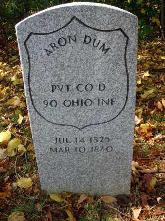 DUM, ARON - Pickaway County, Ohio | ARON DUM - Ohio Gravestone Photos