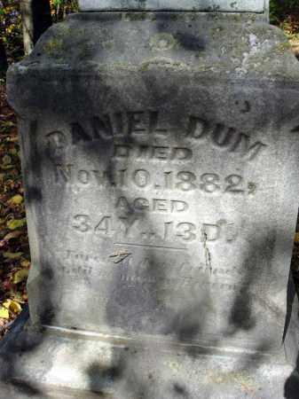 DUM, DANIEL - Pickaway County, Ohio | DANIEL DUM - Ohio Gravestone Photos