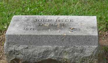 DUNLAP, JOHN HYDE - Pickaway County, Ohio   JOHN HYDE DUNLAP - Ohio Gravestone Photos