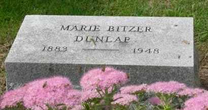 DUNLAP, MARIE - Pickaway County, Ohio   MARIE DUNLAP - Ohio Gravestone Photos