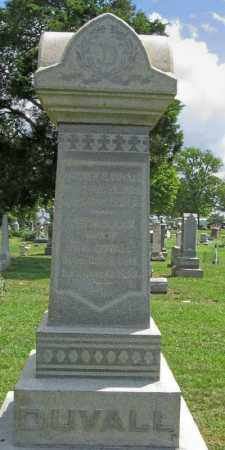 BURGET DUVALL, SARAH R. - Pickaway County, Ohio | SARAH R. BURGET DUVALL - Ohio Gravestone Photos
