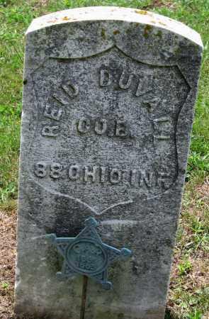 DUVALL, REID - Pickaway County, Ohio | REID DUVALL - Ohio Gravestone Photos
