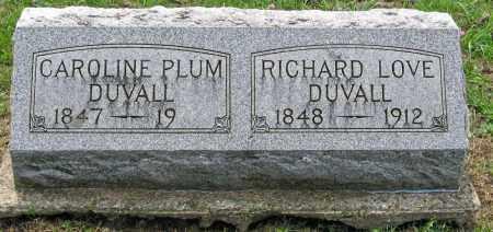 PLUM DUVALL, CAROLINE - Pickaway County, Ohio | CAROLINE PLUM DUVALL - Ohio Gravestone Photos