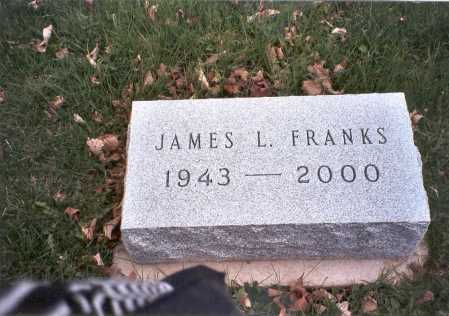 FRANKS, JAMES L. - Pickaway County, Ohio | JAMES L. FRANKS - Ohio Gravestone Photos