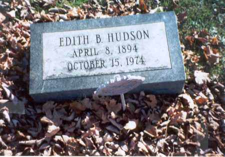 HUDSON, EDITH B. - Pickaway County, Ohio | EDITH B. HUDSON - Ohio Gravestone Photos