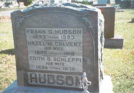 SCHLEPPI HUDSON, EDITH B. - Pickaway County, Ohio | EDITH B. SCHLEPPI HUDSON - Ohio Gravestone Photos