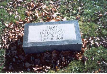 HUDSON, JIMMY - Pickaway County, Ohio | JIMMY HUDSON - Ohio Gravestone Photos