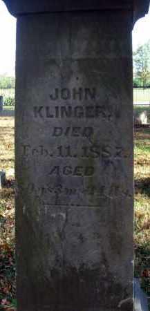 KLINGER, JOHN - Pickaway County, Ohio   JOHN KLINGER - Ohio Gravestone Photos