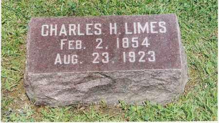LIMES, CHARLES H. - Pickaway County, Ohio | CHARLES H. LIMES - Ohio Gravestone Photos