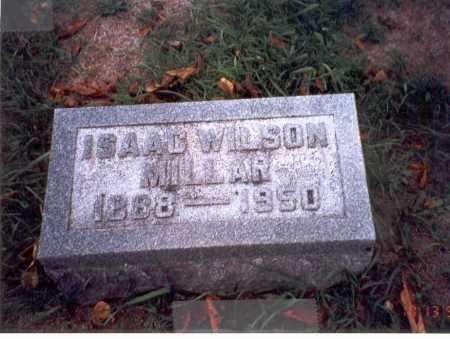 MILLAR, ISAAC WILSON - Pickaway County, Ohio | ISAAC WILSON MILLAR - Ohio Gravestone Photos