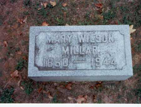 WILSON MILLAR, MARY - Pickaway County, Ohio   MARY WILSON MILLAR - Ohio Gravestone Photos