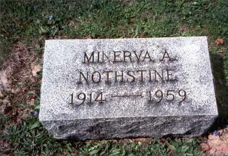 NOTHSTINE, MINERVA A. - Pickaway County, Ohio   MINERVA A. NOTHSTINE - Ohio Gravestone Photos