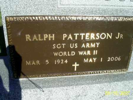 PATTERSON JR, RALPH - Pickaway County, Ohio | RALPH PATTERSON JR - Ohio Gravestone Photos