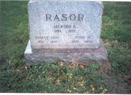 RASOR, JACKSON G. - Pickaway County, Ohio | JACKSON G. RASOR - Ohio Gravestone Photos